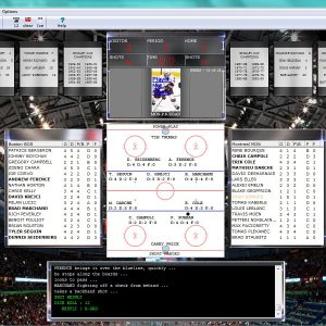 Hockey Windows Game